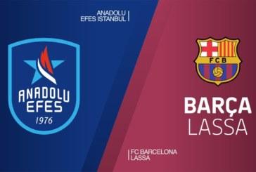 Ponturi Anadolu Efes – Barcelona baschet 17-aprilie-2019 Euroliga