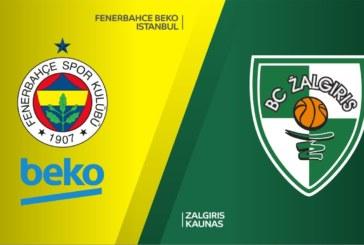 Ponturi Fenerbahce – Zalgiris Kaunas baschet 16-aprilie-2019 Euroliga