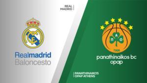 Ponturi baschet Real Madrid-Panathinaikos 15-octombrie-2021 Euroliga