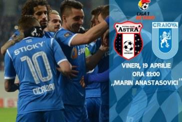 Ponturi Astra-Universitatea Craiova fotbal 19-aprilie-2019 Liga 1 Betano