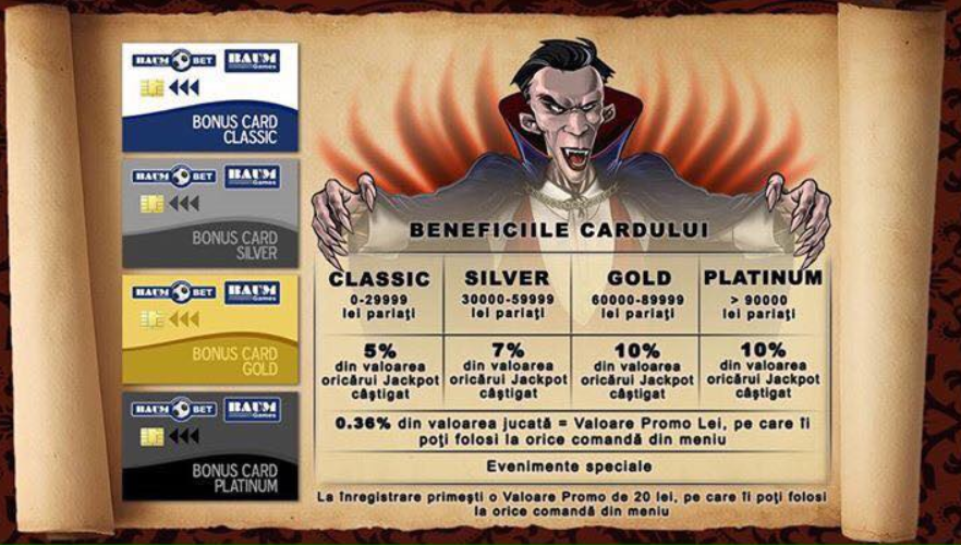 Bonus Card Beneficii la Baumbet