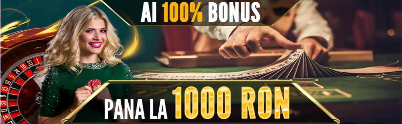 bonus bun venit casino live 1000 ron baumbet
