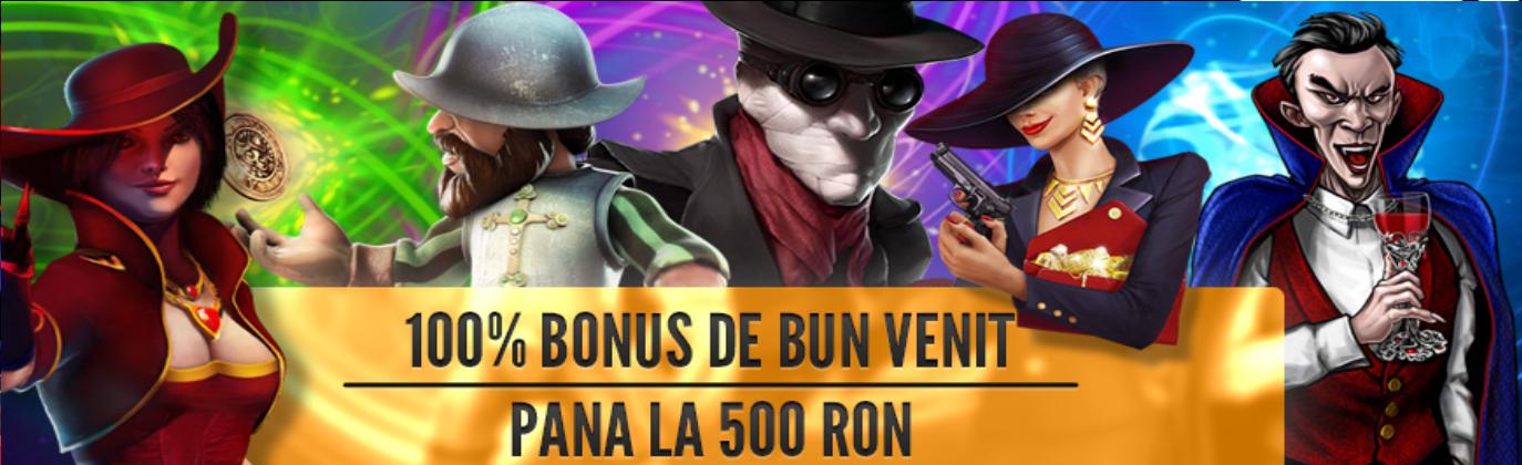 bonus 100% 500 ron baumbet casino