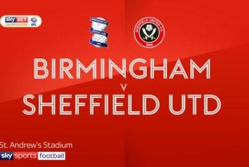 Ponturi Birmingham vs Sheffield United fotbal 10 aprilie 2019 Championship Anglia