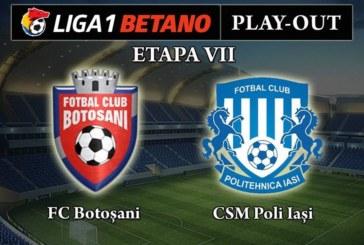 Ponturi FC Botosani-Poli Iasi fotbal 28-aprilie-2019 playout Liga 1