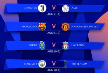 Cote schimbate înaintea returului sferturilor Champions League. Cele mai bune variante de pariere