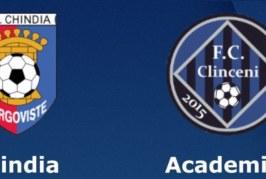 Ponturi Chindia Targoviste vs Academica Clinceni fotbal 25 aprilie 2019 Liga 2 Romania