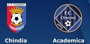 Ponturi Chindia Targoviste vs Academica Clinceni fotbal 29 iulie 2020 Liga 1