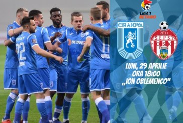 Ponturi Universitatea Craiova vs Sepsi Sf. Gheorghe fotbal 29 aprilie 2019 Liga I Betano Romania