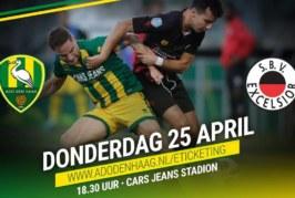 Ponturi ADO Den Haag-Excelsior fotbal 25-aprilie-2019 Eredivisie