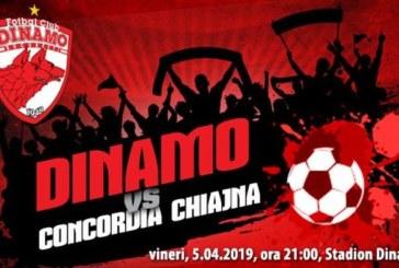 Ponturi Dinamo vs Concordia Chiajna fotbal 5 aprilie 2019 Liga I Betano Romania