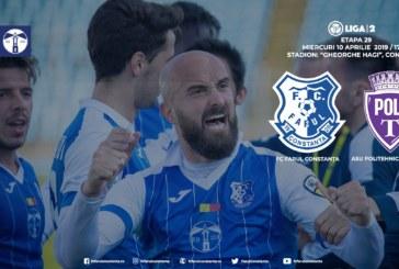 Ponturi Farul Constanta-ASU Poli Timisoara fotbal 10-aprilie-2019 Liga 2 Romania