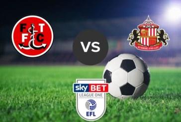 Ponturi Fleetwood Town vs Sunderland fotbal 30 aprilie 2019 League One Anglia