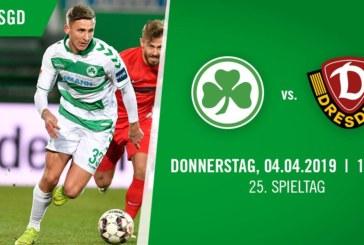 Ponturi Greuther Furth-Dynamo Dresden fotbal 4-aprilie-2019 Bundesliga 2