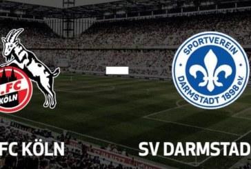 Ponturi Koln vs Darmstadt fotbal 26 aprilie 2019 2.Bundesliga Germania