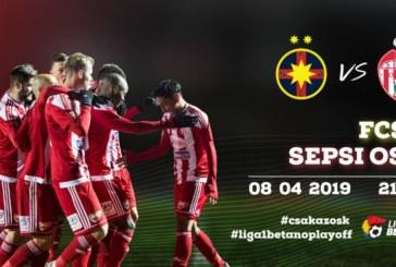 Ponturi FCSB vs Sepsi fotbal 8 aprilie 2019 Liga I Betano Romania