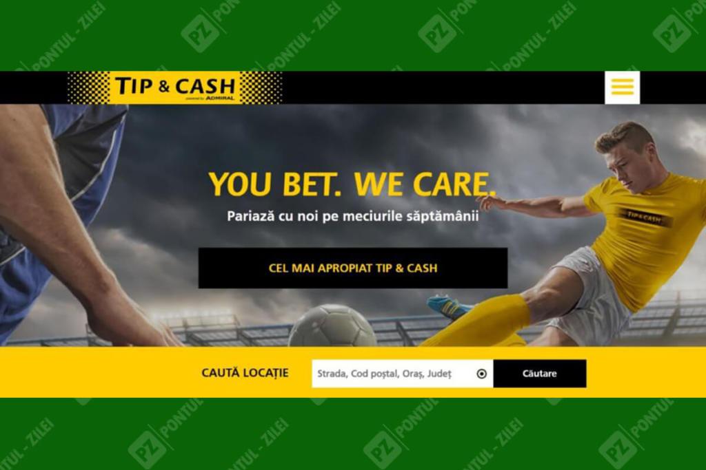 Agentia de pariuri Tip & Cash