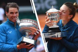 Regele si regina zgurii pariziene se intorc la locul faptei: Nadal si Halep, favoriti sa castige Roland Garros 2019!