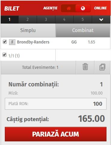 pont pariuri Brondby vs Randers