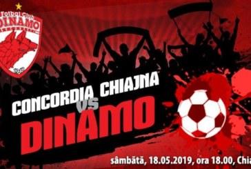 Ponturi Concordia Chiajna vs Dinamo fotbal 18 mai 2019 Liga I Betano Romania