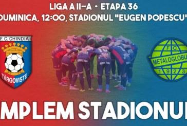 Ponturi Chindia Targoviste-Metaloglobus fotbal 19-mai-2019 Liga 2