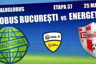 Ponturi Metaloglobus-Energeticianul fotbal 25-mai-2019 Liga 2