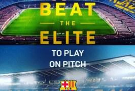 Jucam fotbal cu Rivaldo pe Camp Nou – Beat the Elite