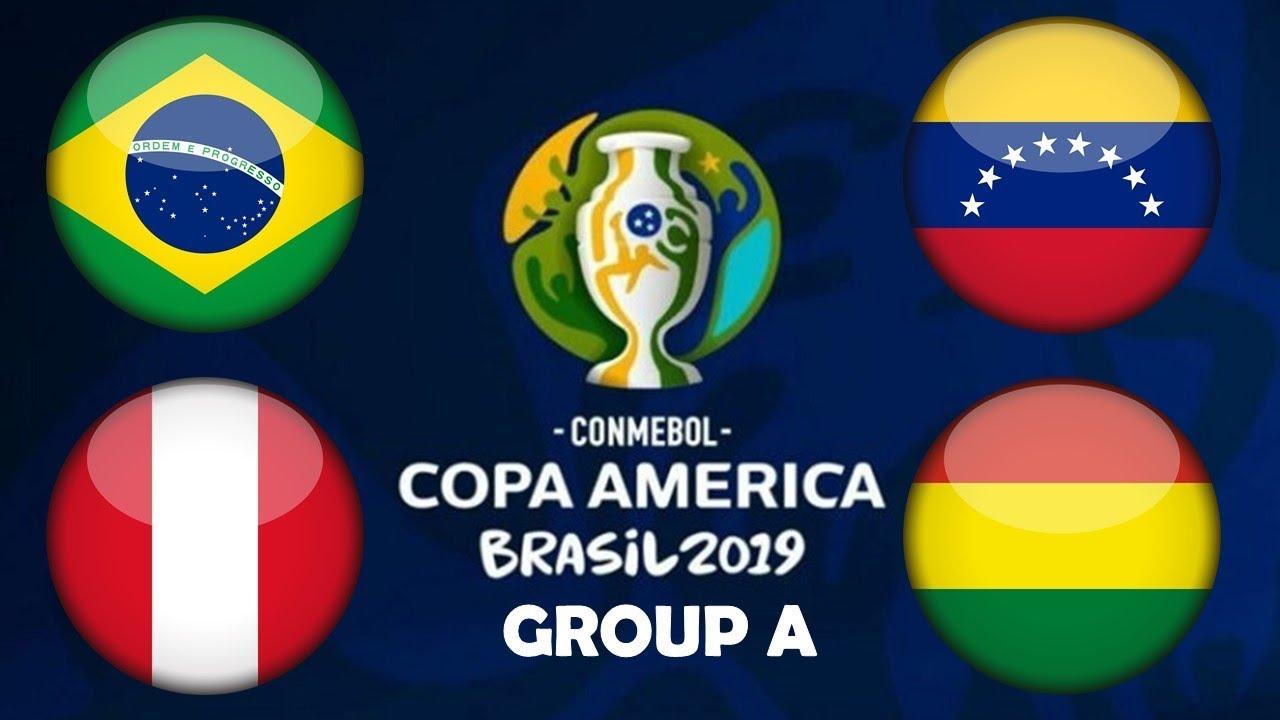 Copa America grupa a