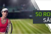 La Netbet poti castiga saptamanal cate un free bet de 50 RON daca pariezi pe tenis!