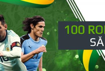 Copa America iti aduce cate un free bet de 100 RON saptamanal la Netbet!