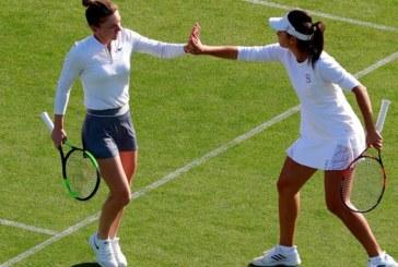 Ponturi S. Halep/I.R. Olaru-K. Flipkens/B. Mattek-Sands tenis 28-iunie-2019 WTA Eastbourne