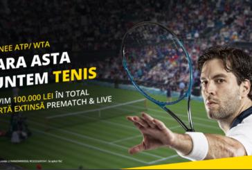 Sarbatoarea tenisului in aceasta vara la eFortuna!