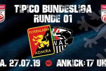 Ponturi Admira-Wolfsberger fotbal 27-iulie-2019 Austria Tipico Bundesliga