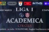 Ponturi Academica Clinceni-CFR Cluj fotbal 20-iulie-2019 Liga 1