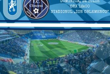 Ponturi Universitatea Craiova-Academica Clinceni fotbal 14-iulie-2019 Liga 1
