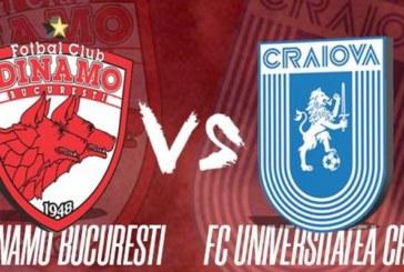 Ponturi Dinamo vs Universitatea Craiova fotbal 21 iulie 2019 Liga I Romania