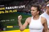 Pariaza live la Fortuna pe meciuri de la Wimbledon si vei avea parte de surprize placute!