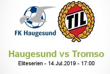 Ponturi Haugesund-Tromso fotbal 14-iulie-2019 Norvegia Eliteserien