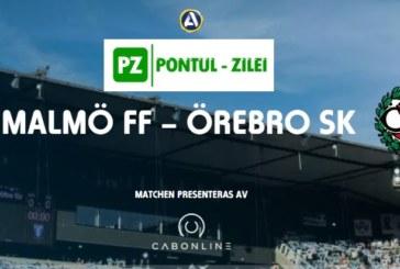 Ponturi Malmo vs Orebro fotbal 6 iulie 2019 Allsvenskan Suedia