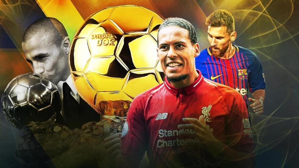 Messi Van Dijk Balon de Aur