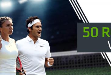 Urmareste Turneul de la Wimbledon la NetBet Tv si poti primi zilnic un pariu gratuit de 50 RON!