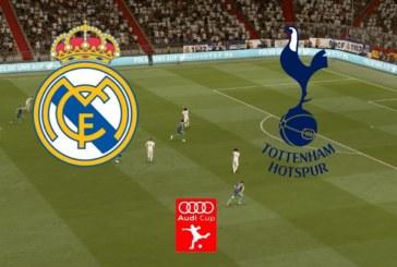 Ponturi Real Madrid-Tottenham fotbal 30-iulie-2019 Audi Cup