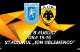 Ponturi U Craiova – AEK Atena fotbal 8-august-2019 Europa League