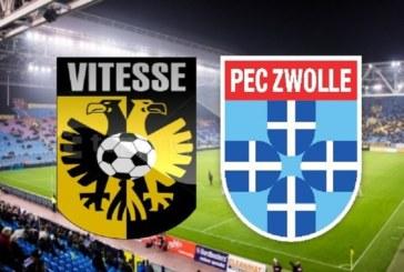 Ponturi Vitesse – Zwolle fotbal 16-august-2019 Olanda Eredivisie