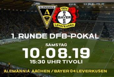 Ponturi Alemannia Aachen-Bayer Leverkusen fotbal 10-august-2019 DFB Pokal