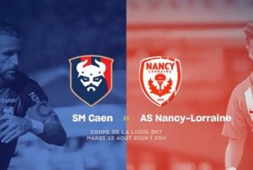 Ponturi Caen vs Nancy fotbal 13 august 2019 Cupa Ligii Franta