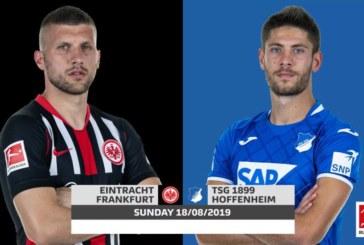 Ponturi Eintracht Frankfurt vs Hoffenheim fotbal 18 august 2019 Bundesliga Germania