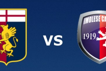 Ponturi Genoa vs Imolese fotbal 16 august 2019 Cupa Italiei