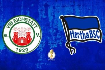 Ponturi Eischstatt-Hertha Berlin fotbal 11-august-2019 DFB Pokal
