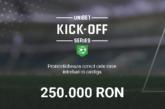Kick-Off Series la Unibet cu premii de 250.000 RON!